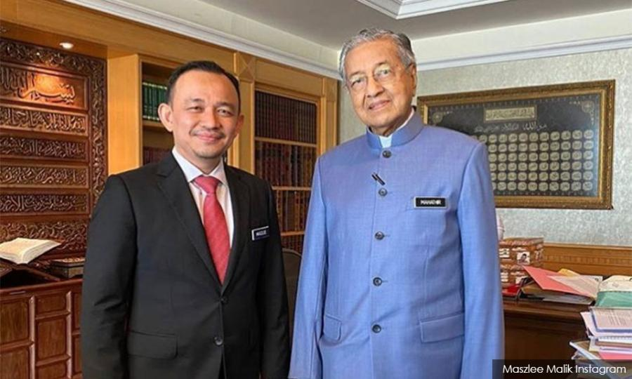 Malaysiakini - Maszlee: Harapan needs Dr M, Anwar has no sole right to be next PM